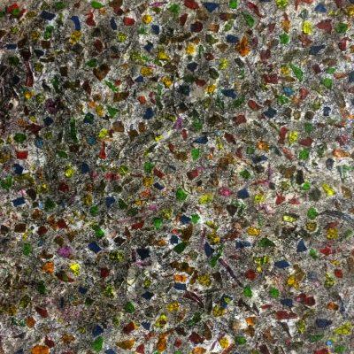 Acryl auf Faserplatte;   50x50cm