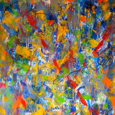 Acryl auf Leinwand;  197x150cm