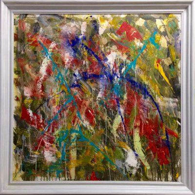 Acryl auf Leinwand 142 x 142 cm