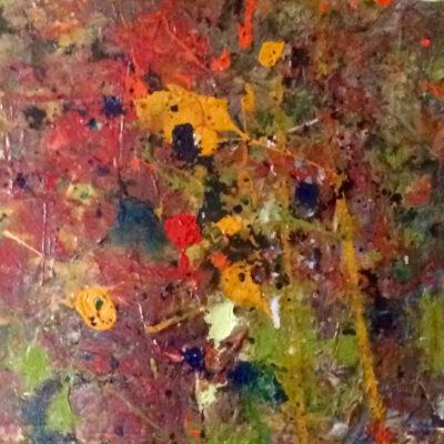 Acryl auf Leinwand 108x31cm